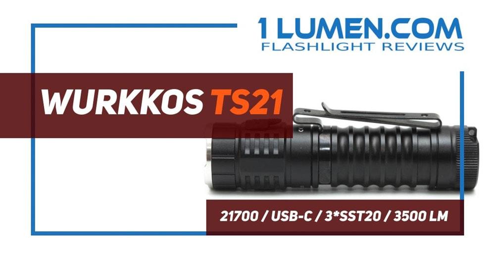 Wurkkos TS21 review