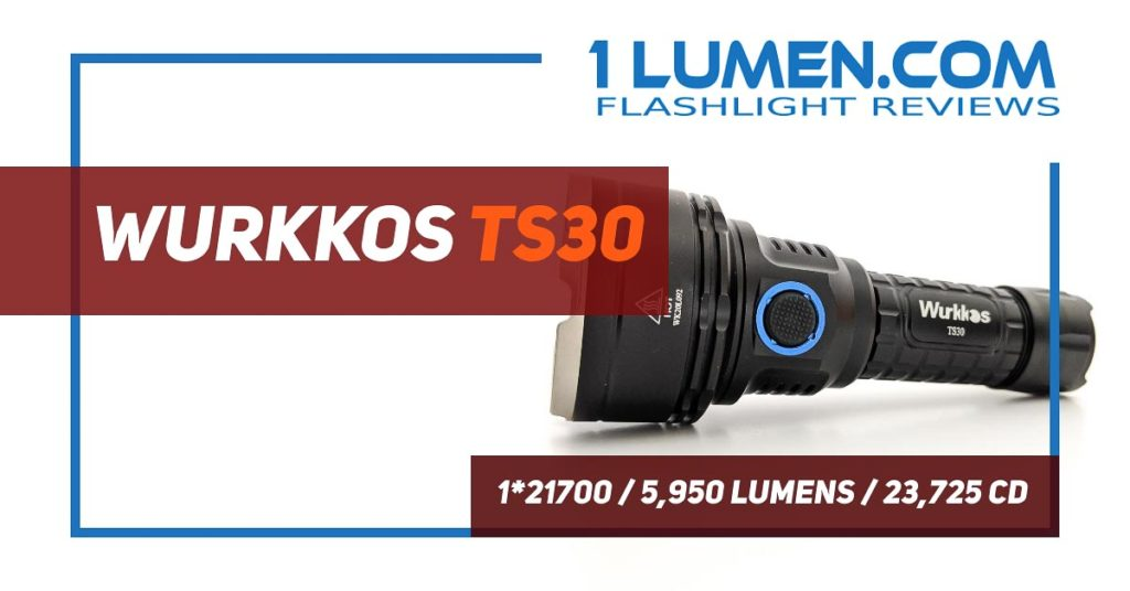Wurkkos TS30 review